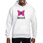 Butterfly - Becca Hooded Sweatshirt