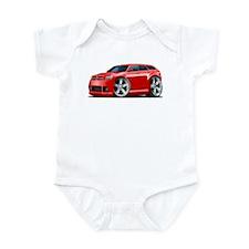 Dodge Magnum Red Car Infant Bodysuit