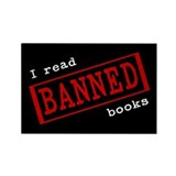 Banned Books Rectangle Magnet (10 pack)