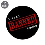 Banned Books 3.5&quot; Button (10 pack)