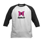 Butterfly - Ashley Kids Baseball Jersey