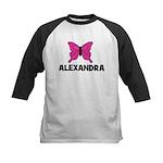 Butterfly - Alexandra Kids Baseball Jersey