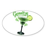 Gerritas Oval Sticker (50 pk)