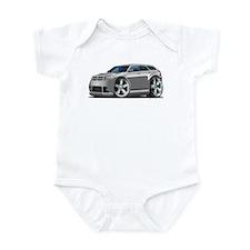 Dodge Magnum Silver Car Infant Bodysuit