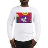 Spotted Dog Holiday Long Sleeve T-Shirt