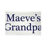 Maeve Grandpa Rectangle Magnet