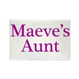 Maeve Aunt Rectangle Magnet