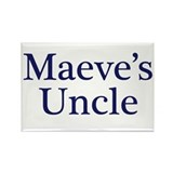 Maeve Uncle Rectangle Magnet
