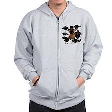 Cairn Terrier Zip Hoodie