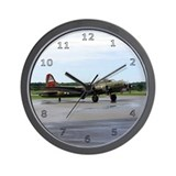 Boeing B17 Flying Fortress Wall Clock