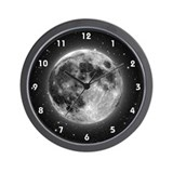 High-Res Moon Wall Clock