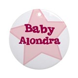 Baby Alondra Ornament (Round)
