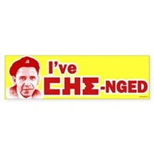 I've CHE-nged Bumper Sticker (50 pk)