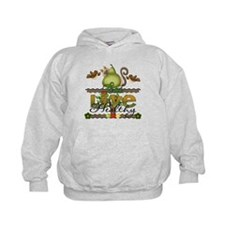 eat and live healthy Hoodie