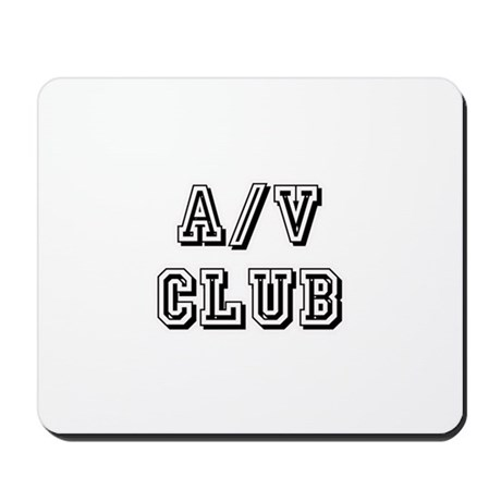 A/V Club Mousepad