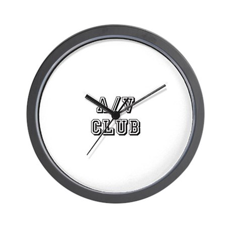 A/V Club Wall Clock