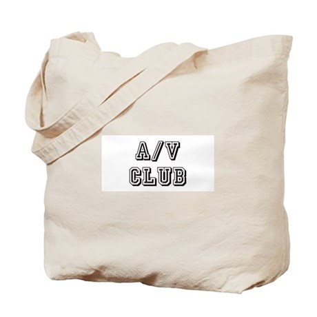 A/V Club Tote Bag
