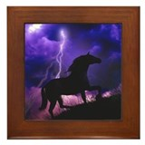 Into the Storm Framed Tile