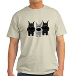 Schnauzer Nose/Butt Light T-Shirt