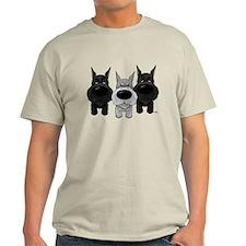 Schnauzer Nose/Butt T-Shirt