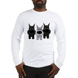 Schnauzer Nose/Butt Long Sleeve T-Shirt