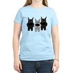 Schnauzer Nose/Butt Women's Light T-Shirt
