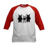 Schnauzer Kids Baseball Jerseys