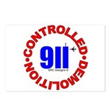911 CONSPIRACY CONTROLLED DEM Postcards (Package o