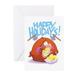 Turkey Holiday Greeting Cards (Pk of 10)
