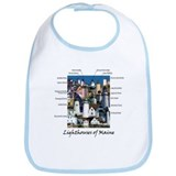 Lighthouses of Maine Bib