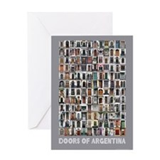 Doors of Argentina Greeting Card