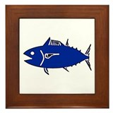 Tuna Framed Tile