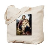 The Holy Family Tote Bag (with Bonus on Back)