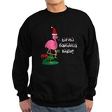 Christmas flamingo Jumper Sweater