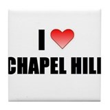 Cool Chapel hill Tile Coaster