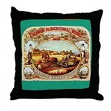 Funny Lagonda Throw Pillow