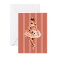 Unique Ballet dancers Greeting Card
