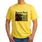 Minnesota Rocks! Yellow T-Shirt