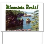 Minnesota Rocks! Yard Sign