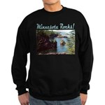 Minnesota Rocks! Sweatshirt (dark)