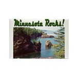 Minnesota Rocks! Rectangle Magnet