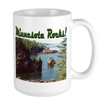 Minnesota Rocks! Large Mug