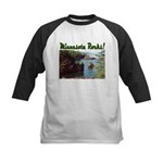 Minnesota Rocks! Kids Baseball Jersey