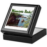 Minnesota Rocks! Keepsake Box