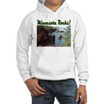 Minnesota Rocks! Hooded Sweatshirt