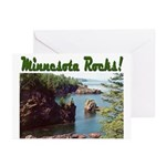 Minnesota Rocks! Greeting Cards (Pk of 10)