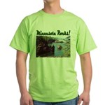 Minnesota Rocks! Green T-Shirt