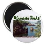 "Minnesota Rocks! 2.25"" Magnet (10 pack)"
