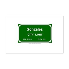 Gonzales Posters