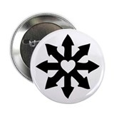 "Chaos Heart 2.25"" Button (100 pack)"